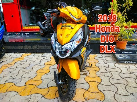 New 2018 Honda DIO DLX full review in Hindi