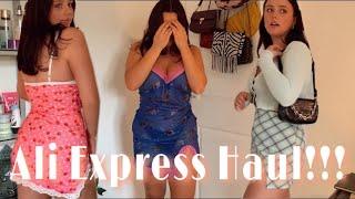 AliExpress Y2K Try On Haul !!! | IS IT A SCAM | Summer 2020