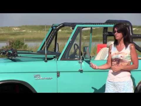 """Bronco Barbie"" series introduction featuring her 1968 Ford Bronco"