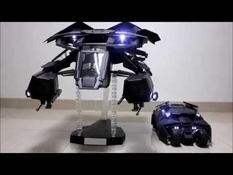 (HD) Hot Toys 1:12 Scale THE BAT Testing - YouTube
