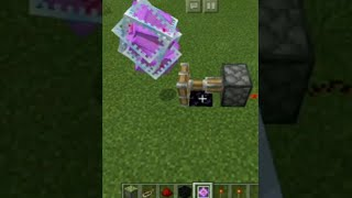 End Crystal Bouncer In Minecraft | #shorts