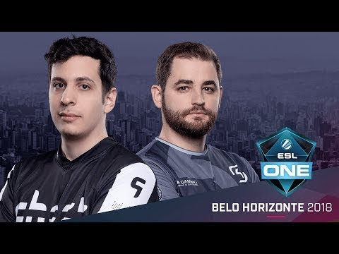CS:GO - SK vs. Ghost  [dust2] Mapa 2 - Group A Elimination Match - ESL One Belo Horizonte 2018