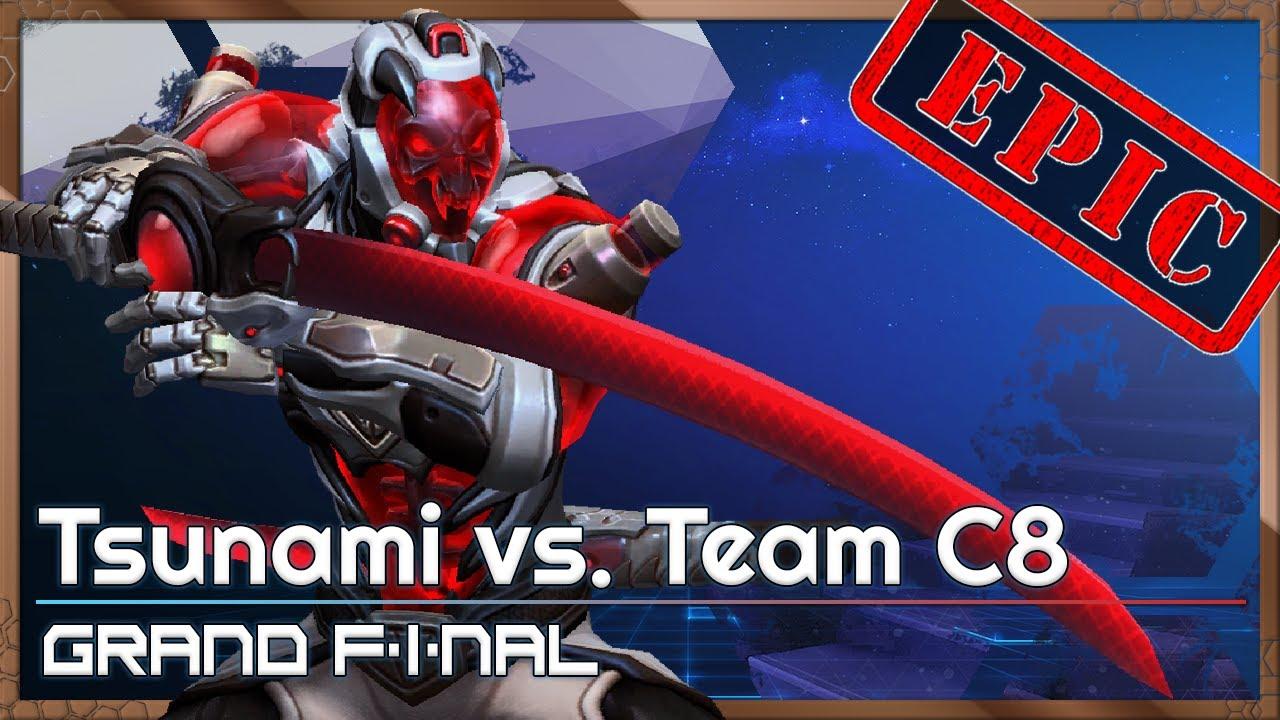 Grand Final: C8 vs Tsunami - Heroes of the Storm Tournament