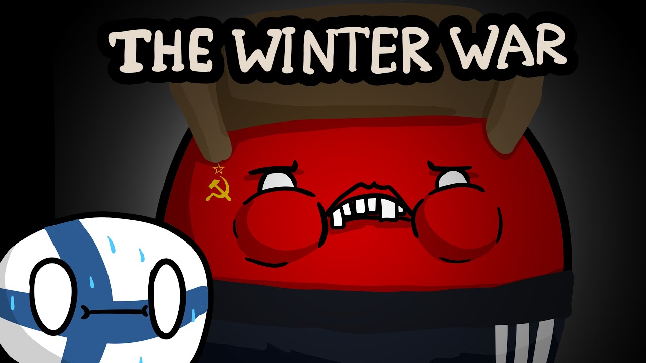 The Winter War - Story time   Countryballs