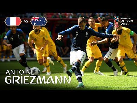 Antoine GRIEZMANN Goal - France v Australia - MATCH 5