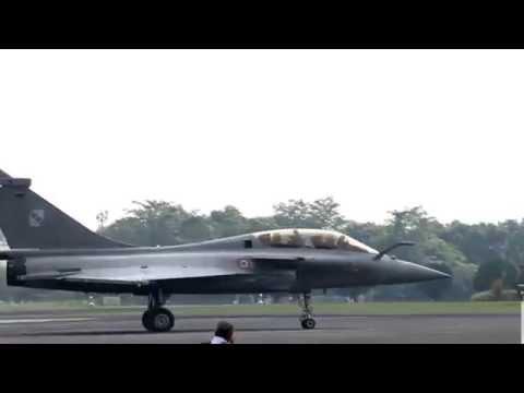 Rafale Taxiing on Halim PerdanaKusuma Airbase
