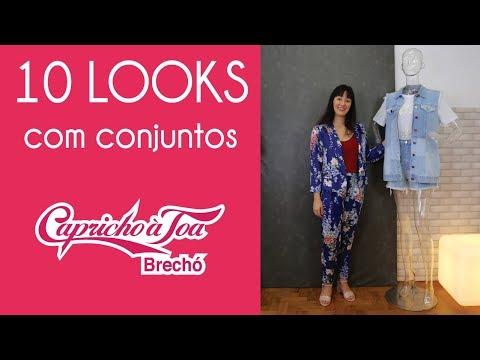 afa0b5e96 Brechó Capricho à Toa: Achados - 10 opções de conjuntos - YouTube