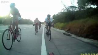 Spectacular Cycling crash, wait for it... Sorry repost, but still worth it..