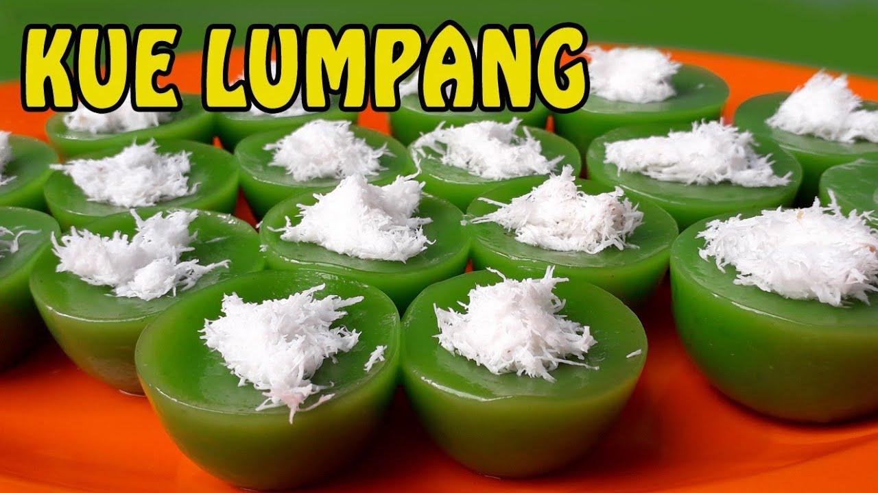 Resep Kue Lumpang Ijo Resep Kue Lumpang Tepung Kanji Cara Membuat Kue Lumpang Yang Enak Youtube