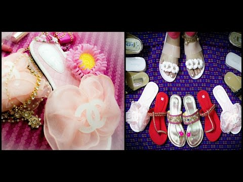 Kolkata Shopping | Shoe Haul (Under 500) | Deblina Rababi