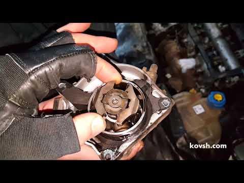 Причина шума в приводе вакуумного насоса Fiat Doblo 1.6d 263A4.000