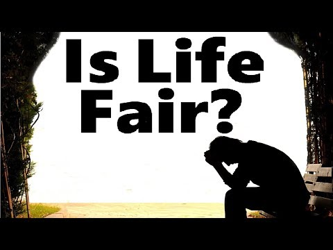 IS LIFE FAIR?  (one for israel maoz i found shalom Torah Shabbat Kashrut СТБМ Aish Jewish Voice МЕБИ