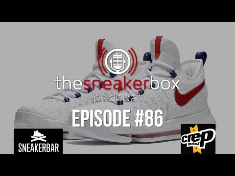 "The Sneaker Box: Episode 86 - Nike KD 9 ""USA"""