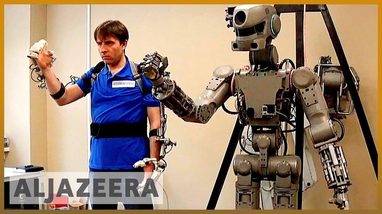 AlJazeera English:Russian humanoid robot Fedor to travel to space