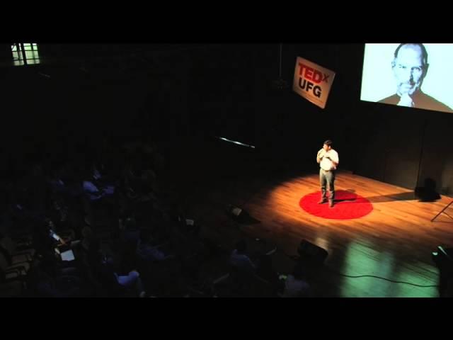 Nao tenha medo de fracassar : Maurício Andrade at TEDxUFG