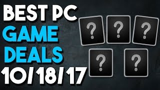 Top 5 PC Game Deals of the Week 10/18/17