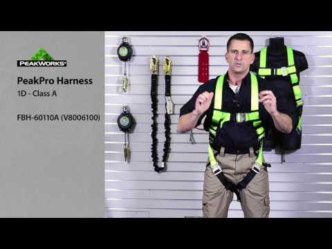 Donning A Harness - How To Properly Put On A Safety Harness Before Working At Heights.