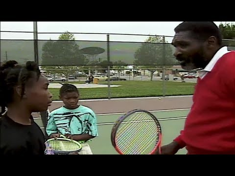 Venus and Serena Williams growing up in Compton