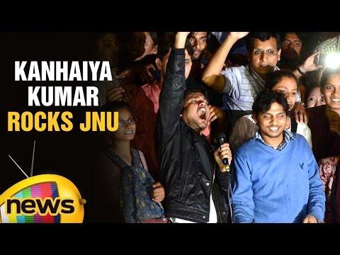 Kanhaiya Kumar Rocks JNU With Rousing Azaadi Slogans | Freedom In India | Mango News