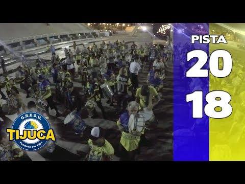 Bateria Unidos da Tijuca 2018 - Pista - Apoteose Visita Setor 11