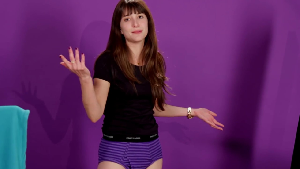 Women Try Mens Underwear For The First Time Try Girls
