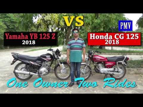 Yamaha Yb Z Vs Honda