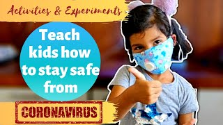 Coronavirus Activities and Experiments for Kids | Coronavirus Prevention Measures | How to Stay Safe