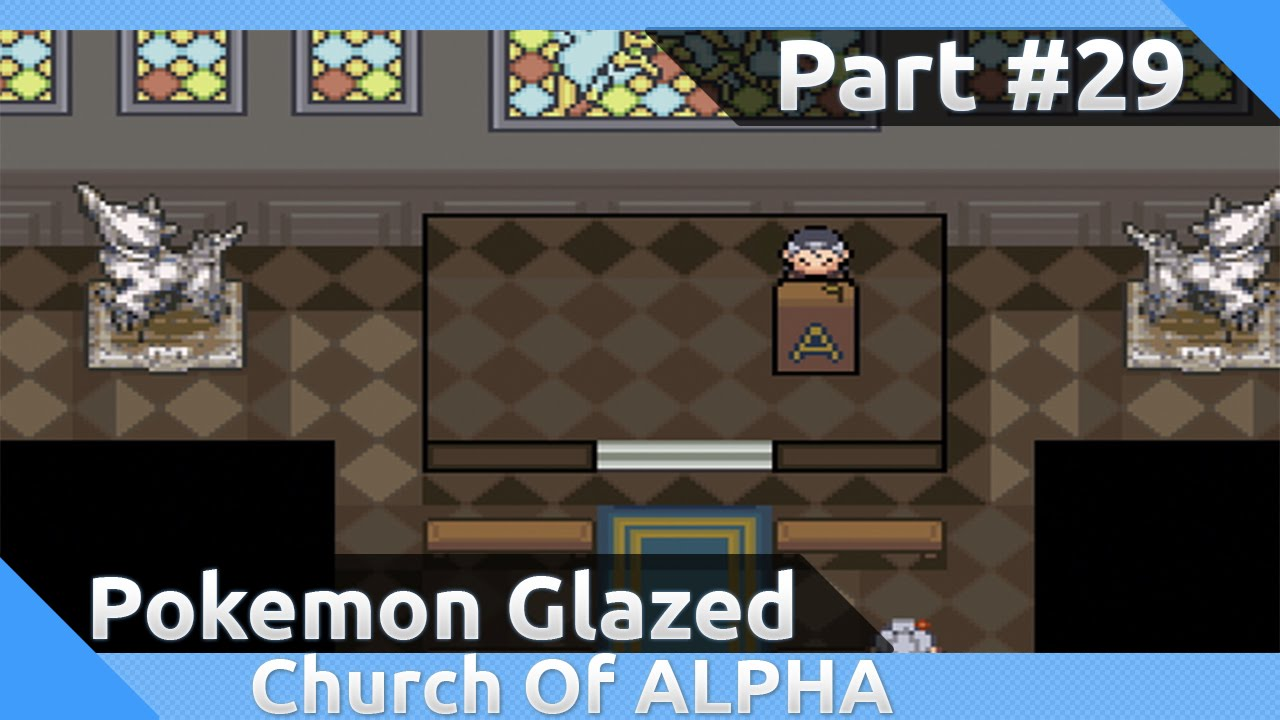 pokemon glazed church of alpha password