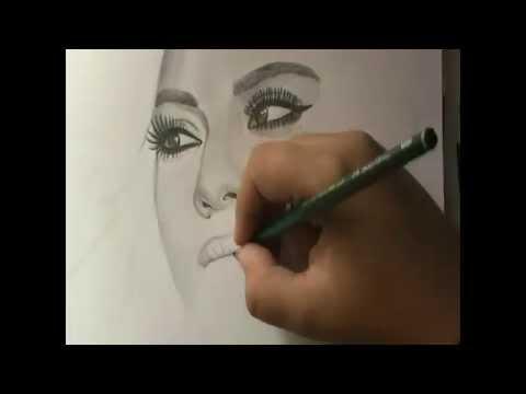 Dinah Jane Hansen - Speed Drawing