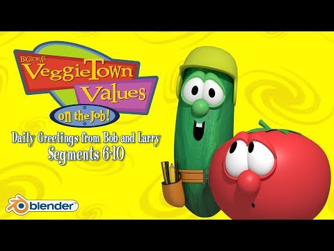 VeggieTown Values: On the Job!: Greetings From Bob and Larry (6-10; Blender Recreation)