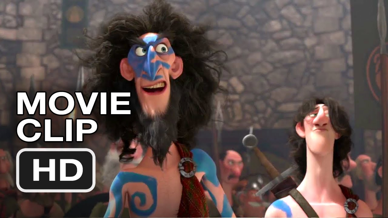 Brave Movie CLIP #4 - The Suitors (2012) Pixar Movie HD ...