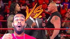 THIS WAS AWESOME!!!!!Kurt Angle, Brock Lesnar , Roman Reigns And Samoa Joe Full Segment(REACTION)