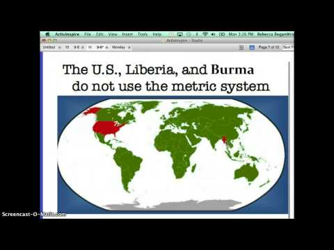 Metric System Screencast