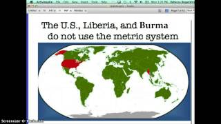 Metric System Screencast