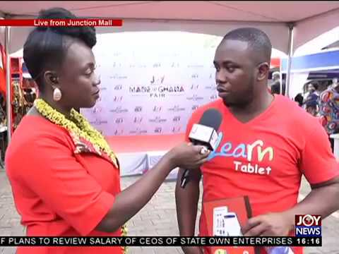Multimedia made in Ghana fair - The Pulse on JoyNews (21-9-1
