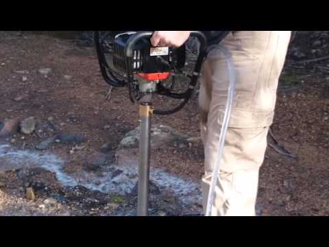 Independent Geologist - Man-portable core drilling