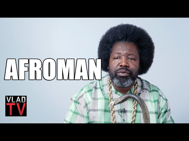 Afroman talks being a Crip and Moving to Rival School