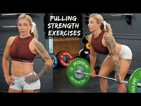 3 Best PULLING STRENGTH exercises for Snatch + Clean & Jerk!