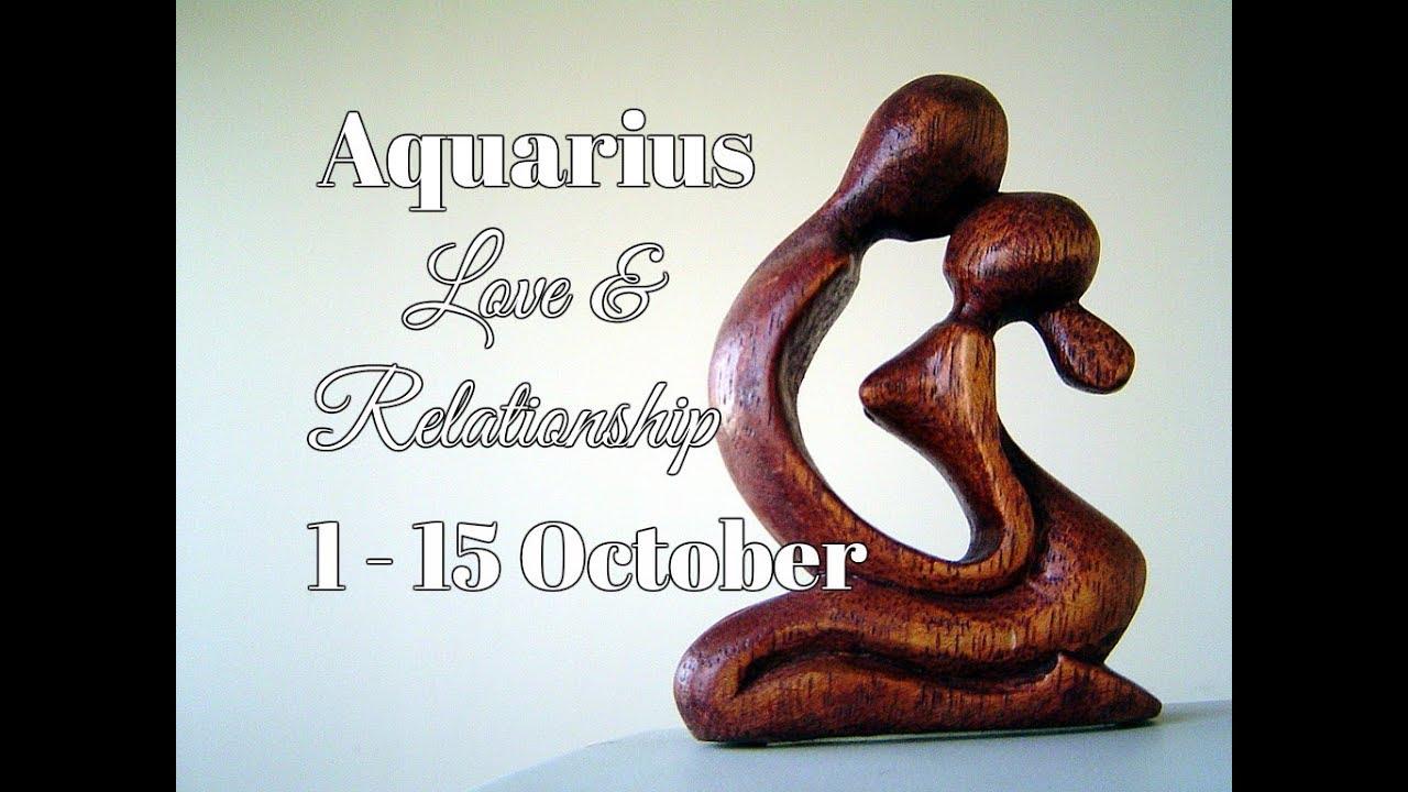 AQUARIUS LOVE & RELATIONSHIP 1-15 October 2017 In-Depth Tarot
