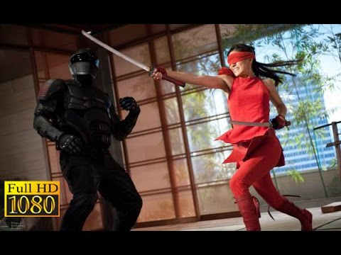 GI Joe Retaliation 2013  Snake eyes vs Jinx Training Test Full scene 1080p FULL HD