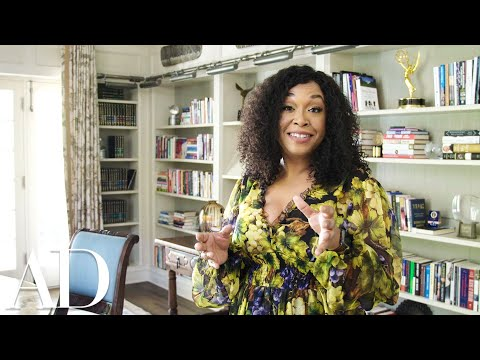Inside Shonda Rhimes&39; 1920s Style Home Study  Architectural Digest