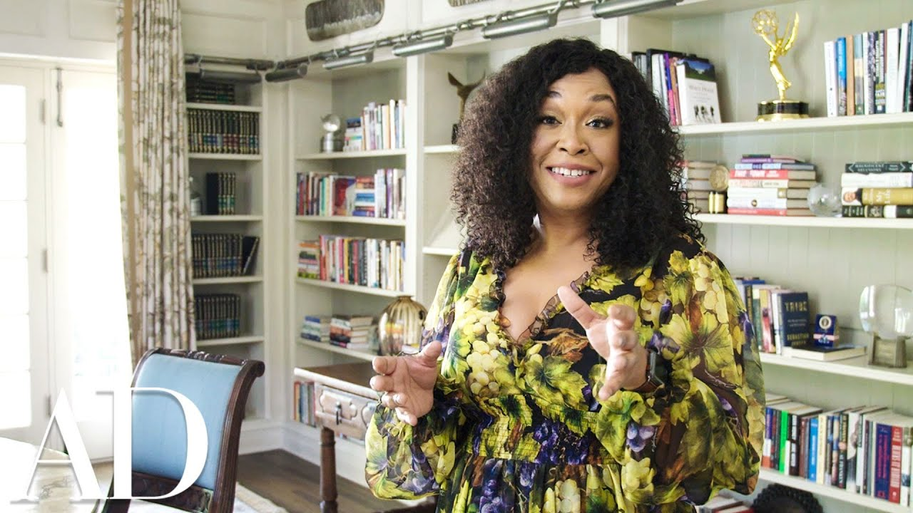 Inside Shonda Rhimes' 1920s Style Home Study | Architectural Digest