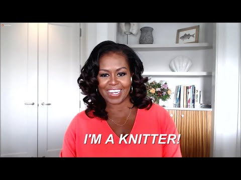 Michelle Obama Reveals She's a Knitter Now + What She's Knitted For President Obama