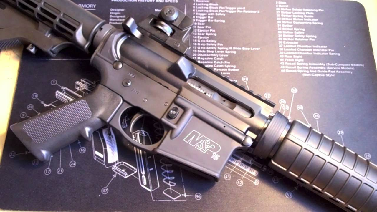 How To Change The Grip On A Smith And Wesson Mp15 Sport Ar 15 Youtube Amp Schematics