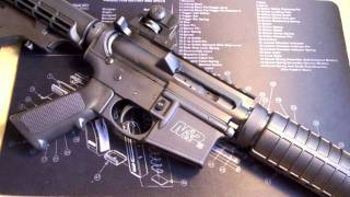 How To Change The Grip On A Smith And Wesson M&P15 Sport AR-15