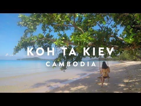 PARADISE ISLAND   Cambodia Koh Ta Kiev   GoPro Hero 5 Karma 1440p HD