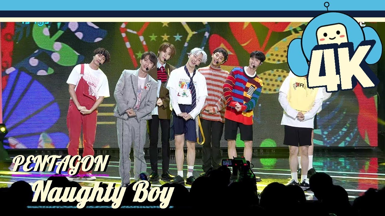 4k Focus Cam Pentagon Naughty Boy Show Music Core 20180922