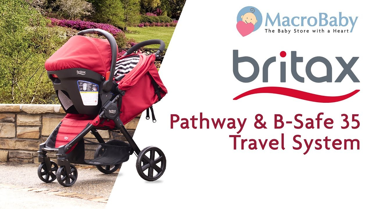 a7224984f Britax Pathway & B-Safe 35 Travel System - Demo Stroller | MacroBaby ...