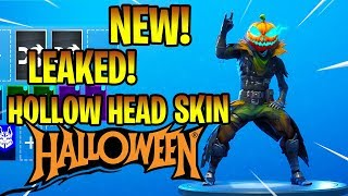 *NEW* LEAKED HOLLOW HEAD SKIN! Fortnite Battle Royale