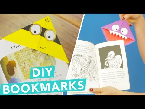 Easy DIY Children's Bookmarks | DIY Bookmark Ideas | Craft Factory